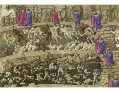 Slavné obrazy XIV-98 Sandro Botticelli - Božská komedie