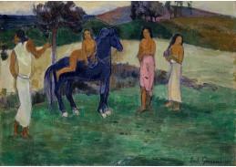 A-109 Paul Gauguin - Postavy s koněm