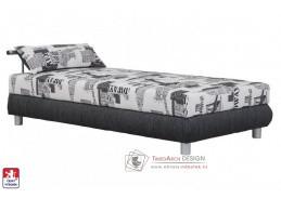 ADRIANA, postel 110x200cm, pevně načalouněná matrace