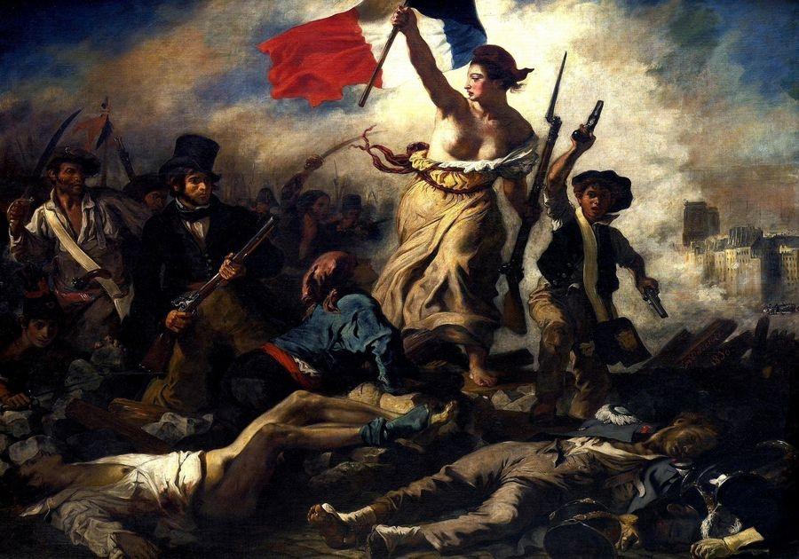 VEF 18 Eugene Ferdinand Victor Delacroix - Svoboda vedoucí lid