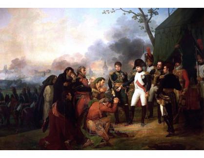 VF233 Carle Vernet - Napoleon před branami Madridu v roce 1810