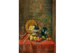 Slavné obrazy XVII-491 Hugo Charlemont - Zátiší s ovocem
