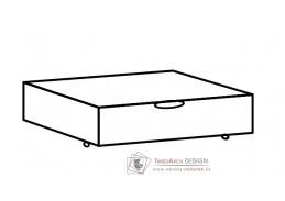 MARGITA 288, zásuvka pod postel, dub bílý