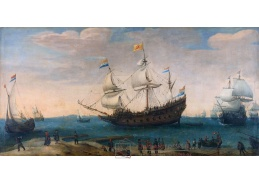 D-6428 Hendrik Vroom - V přístavu