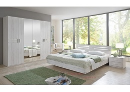 SUSAN 321, ložnicová sestava nábytku, dub bílý