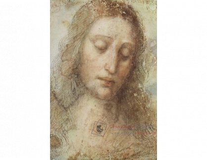 R1-61 Leonardo da Vinci - Hlava Krista