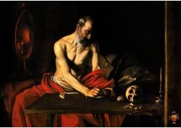 VCAR 11 Caravaggio - Svatý Jeroným