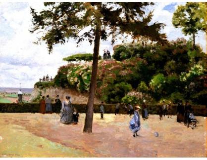 VCP-410 Camille Pissarro - Veřejná zahrada v Pontoise
