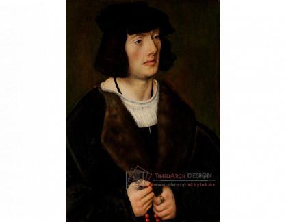 VlCR-214 Lucas Cranach - Portrét muže s růžencem