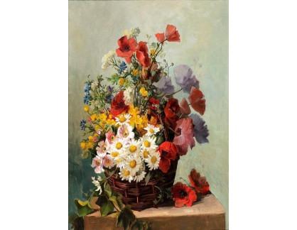 Slavné obrazy I-DDSO-194 J. Petit - Květinové zátiší