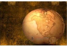 Obraz mapa 1295