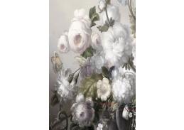 FLOWERS II, skleněný obraz 80x120 cm