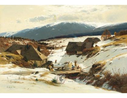 DDSO-4214 Rudolf Schuster - Zima v Krkonoších
