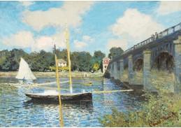 D-7078 Claude Monet - Most v Argenteuil