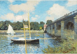 D-7078 Claude Monet - Most v Argenteuil