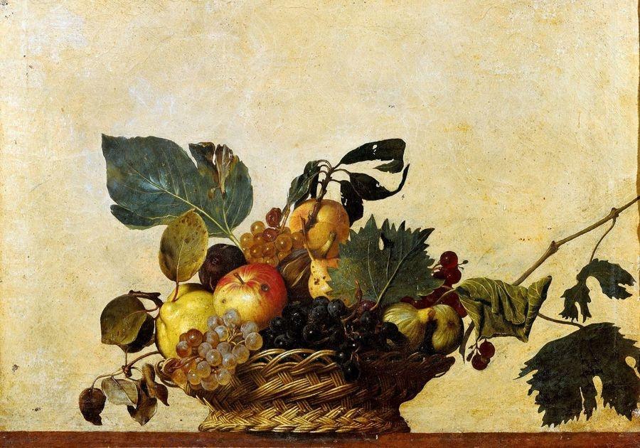 VCAR 1 Caravaggio - Koš s ovocem