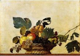 VCAR 01 Caravaggio - Koš s ovocem