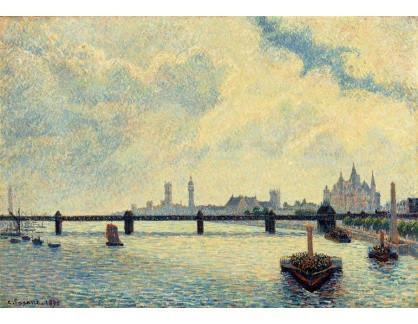 VCP-446 Camille Pissarro - Most v Londýně