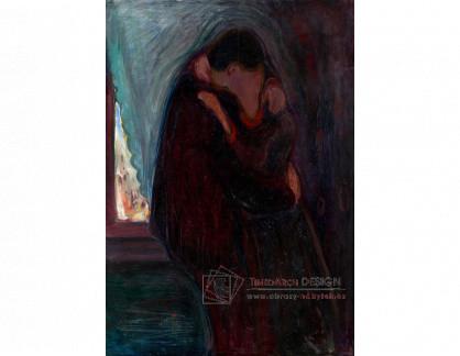 VEM13-75 Edvard Munch - Polibek
