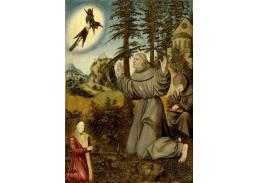 VlCR-102 Lucas Cranach - Stigma svatého Františka