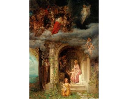 Slavné obrazy I-DDSO-82 Eduard Veith - Alegorická scéna