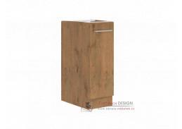 Dolní kuchyňská skříňka s výsuvným košem VEGA D30 CARGO BB dub lancelot