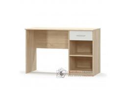TEYO, počítačový stůl 1S, dub sonoma / bílá