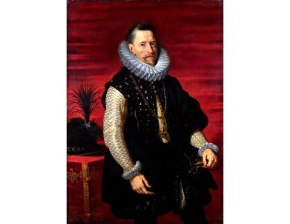 VRU129 Peter Paul Rubens - Portrét Albert VII, arcivévody Rakouska