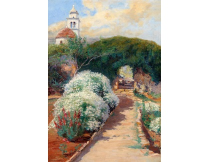 Krásné obrazy II-426 Menci Clement Crncic - Jaro na Istrii