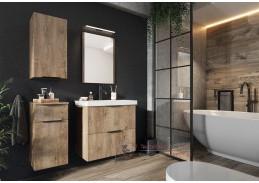 LONGFORD II, koupelnová sestava nábytku, dub lefkas