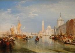 D-6238 Joseph Mallord William Turner - Dogana a San Giorgio Maggiore v Benátkách
