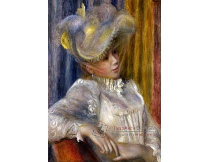 VR14-308 Pierre-Auguste Renoir - Žena v klobouku
