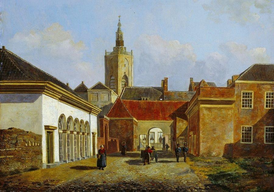 VH107 Carel Jacobus Behr - Ulice v Haagu