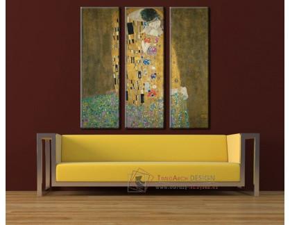 Obrazový set 3D Gustav Klimt 1