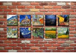 Obrazový set 10D Vincent van Gogh