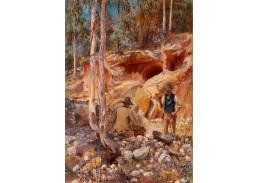 Krásné obrazy II-7 J. Miller Marshall - Zlatokopové