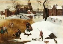 D-9230 Abel Grimmer - Zimní krajina s bruslaři