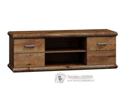 KORA K11, televizní stolek, světlý jasan