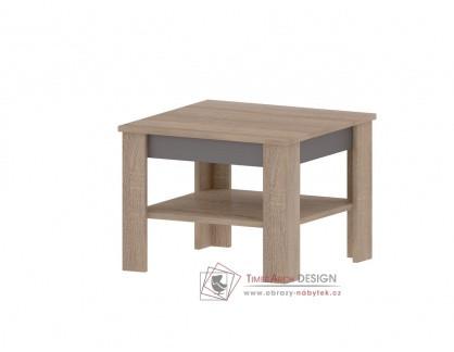 MADAGASKAR A, konferenční stolek 67x67cm, dub sonoma / grafit