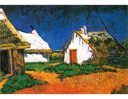 VR2-114 Vincent van Gogh - Tři bílé chatky v Saintes-Maries