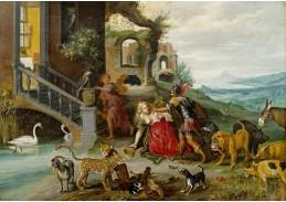 BRG-90 Jan Brueghel - Scéna z pověsti o Lucretii