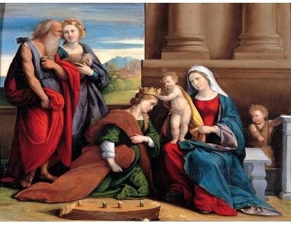 KO III-148 Garofalo - Korunovace svaté Kateřiny