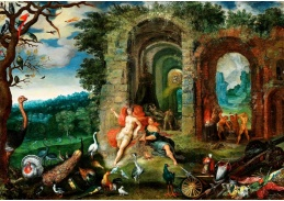 D-9360 Frans Francken - Alegorie ohně a vzduchu