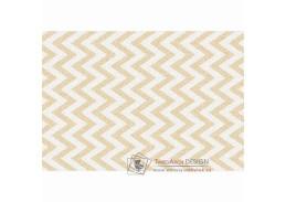 ADISA 2, koberec 67x120cm, béžovo-bílá vzor