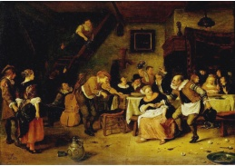 DDSO-3729 Jan Steen - Rolníci v hostinci