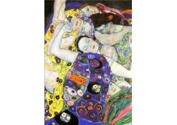 Gustav Klimt - Panny, detail, 120x80cm