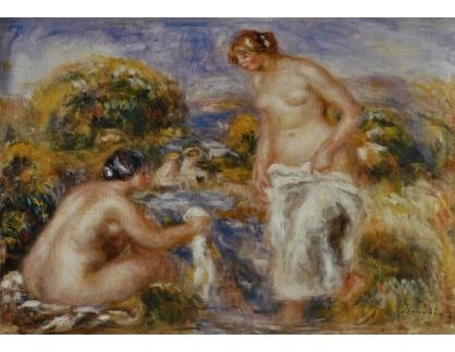 R14-121 Pierre-Auguste Renoir - Koupání žen