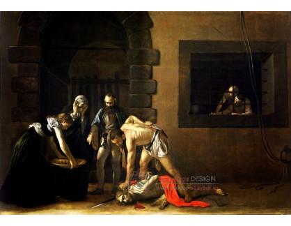 VCAR 52 Caravaggio - Stětí svatého Jana Křtitele