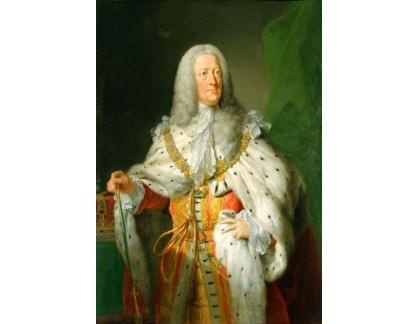 VANG86 John Shackleton - Portrét Jiřího II, krále Anglie