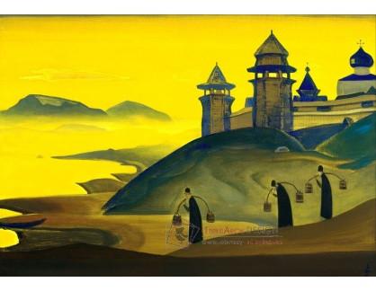 Krásné obrazy VI-117 Nikolaj Konstantinovič Rerich - A my se snažíme